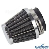 Motorcycle 48mm Air Filter For Honda Yamaha Intake Mushroom Head Air Cleaner New