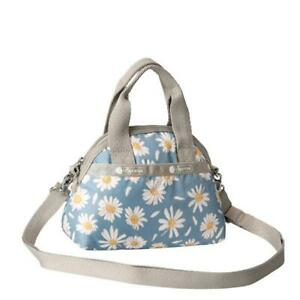LeSportsac Classic Collection Mini York Satchel in Daisy Petals NWT