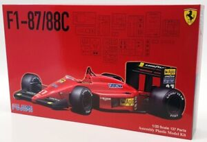 Fujimi 1/20 Scale Model Kit 091983 - Ferrari F1 87/88C
