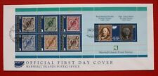 Clearance - Marshall Islands (631-37) 1997 First Stamps Anniversary Official FDC