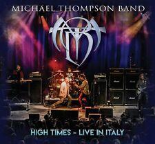 MICHAEL THOMPSON BAND High Times - Live in Italy (Album 2020) CD + DVD NEU & OVP