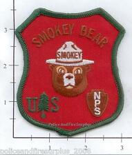 United States - US Forest Service Smokey the Bear Fire Patch