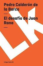 EL DESAFIO DE JUAN RANA/ THE CHALLENGE OF JUAN RANA - NEW PAPERBACK BOOK