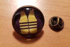 GROS PIN'S 2cm SOUTIEN GILETS JAUNES GILET JAUNE SOUTIEN PINS pin's bouton