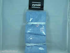 ZYMOL COTTON TOWEL TERRY BUFFING WASHABLE NEW NO SIZING SILICONE FREE CLEAN