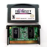 Final Fantasy V Advance (Nintendo Game Boy Advance, 2006) Authentic Tested