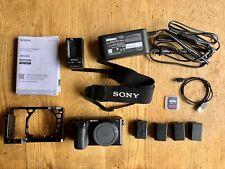 Sony Alpha a6500 24.2MP Digital Camera - Black (Body Only)