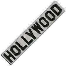 HOLLYWOOD EMBROIDERED IRON-ON DECORATIVE PATCH FOR JACKET DENIM HOODIE BAG 13""