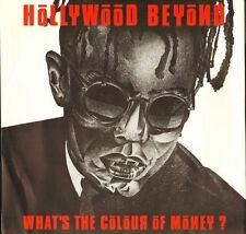 "HOLLYWOOD BEYOND what's the colour of money YZ 76T uk wea 1986 12"" PS EX/EX"