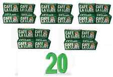 20 Cafe La Llave 20 PACK of Cuban coffee,espresso cafe cubano 10oz each