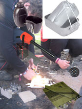 Contact Left Bushcraft Kit - Shemagh Compass 58 Patt Bottle Mess Tins Fire Start