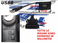 CABLE A PANEL USB PARA TOYOTA YARIS Y OTROS SOLAMENTE SE TIENE ESPACIOS COMO