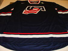 Team USA Hockey Jersey M IIHF World Juniors NWT Navy