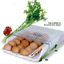 jumiss automatic rolling down egg container in refrigerator compact, idea 24 Egg