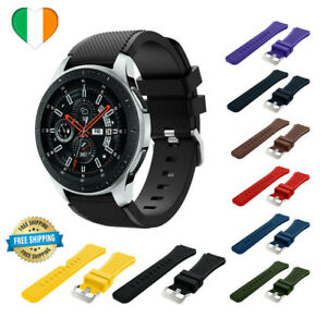 For Samsung Galaxy S3 Watch 46mm Silicone Fitness Replacement Wrist Strap Smart