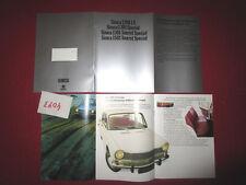 N°4073 / catalogue SIMCA 1301 et 1501 nederland text   1970 environ