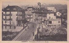 # COSSATO: PANORAMA E PONTE SULLO STRONA  - 1947
