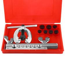 10pcs Metric Brake Pipe Flaring Kit Fuel Repair Tool Kit Set Mechanic Plumber