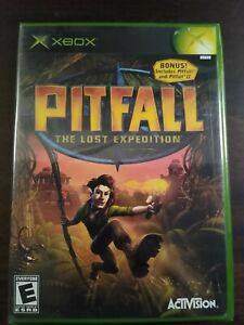 Pitfall: The Lost Expedition Original Xbox 2004 Brand New Sealed Rare Mint 1 Own