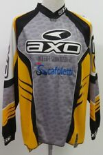 MAGLIA SHIRT JERSEY MOTORCYCLE CROSS QUAD CARS AUTO SCAFOLETTI ROMA RACING XXL