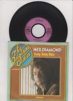 """7"""" Vinyl - NEIL DIAMOND - Song Sung Blue + Soolaimon (1975)"""