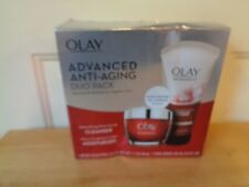 NEW OLAY ADVANCED ANTI-AGING REGENERIST DUO PACK CLEANSER SCULPTING MOISTURIZER