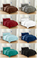 8-Piece Comforter Set Luxurious Pintuck Design Bed-in-a-Bag 6 Sizes, 8 Colors !!
