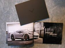 2015 Corvette Z06 Etc Sales Catalog & 2015 Z06 Auto Show Color Folder 2 Items