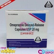 OMEPRAZOLE 20mg SPC Capsules Pills OTC Acid Reducer OCID Delayed Release