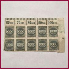 George V (1910-1936) Era 1 German & Colonies Stamps