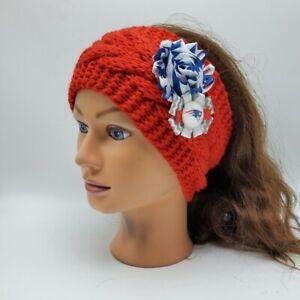 New England Patriots Headband NFL Football Tom Brady Earmuff Knit Headband
