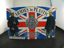 Armies in plastic Egypt Sudan campaign 1882 british infantry 20 figures 1/32 MIB