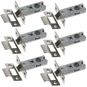 Standard Tubular Mortice Latch - Packs of 5-10 - 64mm Tubular Door Latches