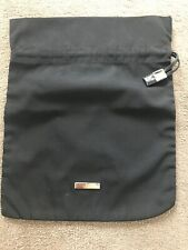 Designer Bag GUCCI , Black Drawstring ,  Nylon Travel  Bag   Unisex