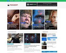 Turnkey WordPress Movie Trailer Website Script Autopilot Adsense Online Income