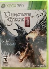 Dungeon Siege III 3 Xbox 360-New Factory Sealed **Free Shipping**