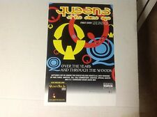 QUEENS OF THE STONE AGE PROMO POSTER 17x11 music vintage cd lp