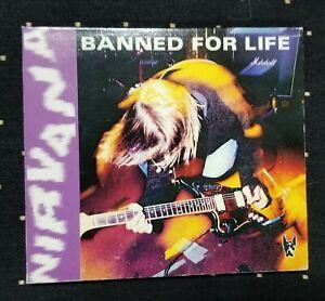 Nirvana Banned For Life Import CD Italy OG RARE Kurt Cobain Dave Grohl