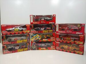 Lot of (10) Racing Champions 1:24 NASCAR Diecast Cars - Brand New in Box - NC6