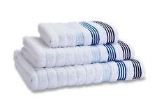 Catherine Lansfield Garrat Stripe White Luxury 100% Cotton Towel Assortment