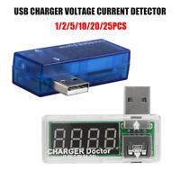 USB Charger Doctor Volt & Amperemeter Monitor Spannung Strom Messgerät & Zubehör