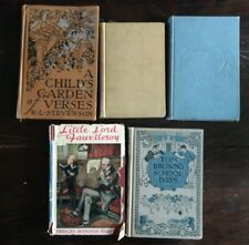 Rare Vintage book lot: 5 pcs kids children story books