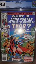 What If J Foster Had Found The Hammer of Thor? (WI V1#10 CGC 9.4) by Comic Blink