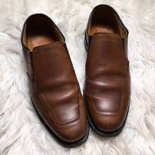 Allen Edmond Men Brown Size 9 D Milford Casual Slip On Loafers