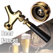 Unadjustable Beer Tap Faucet Draft W/ Brass Lever Handle For Kegerator