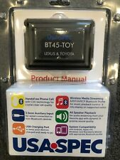 TOYOTA TACOMA Bluetooth hands-free phone + streaming music kit Android/iPhone