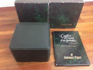 Audemars Piguet 56303. 789 Vintage Watch Box + Guarantee Booklet + FREE SHIPPING