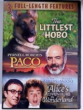 The Littlest Hobo / Paco / Alice's Adventure in Wonderland (DVD) 3 Movies LOOK!!