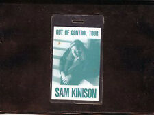 Sam Kinison - Out Of ControlTour Laminate Pass - All Access