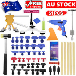 Paintless Dent Puller Car Body Hail Remover Repair Lifter Kit Tools Car Auto AU